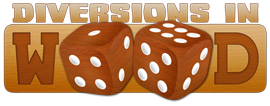 Diversions in Wood Logo